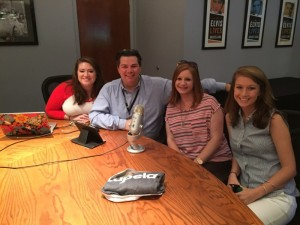 Working with the PR Team at Graceland during Elvis Week