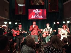 Jam session at the Hard Rock Café featuring 2015 Ultimate ETA David Lee