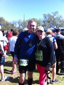 Rock 'N Roll New Orleans Half Marathon...our very first!