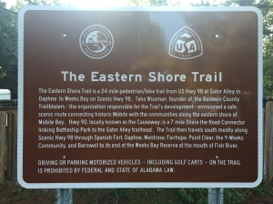 Eastern Shore Trail Marker